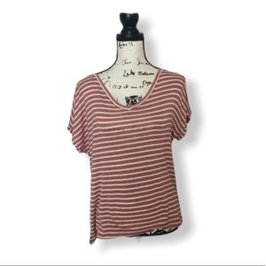 Active USA Striped T-shirt